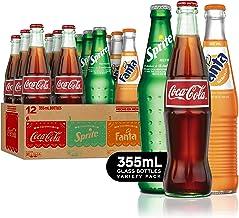 Mexican Coke Fiesta Pack, 12 fl oz Glass Bottles, 12 Pack
