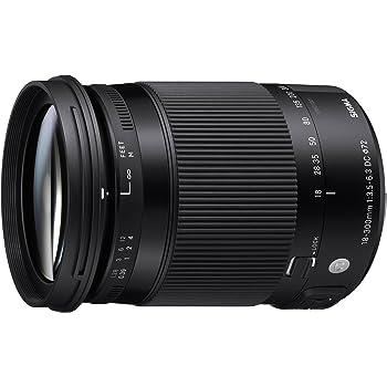 Sigma 886306 18-300mm F3.5-6.3 DC Macro OS HSM Lens for Nikon, black