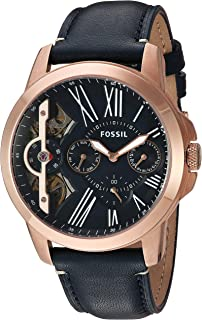 Fossil Men's Grant Analog Analog-quartz Blue Watch, (ME1162)