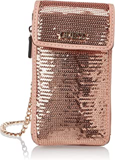 GUESS Women's Picnic Chit Chat Shoulder Bag, Color: Gold