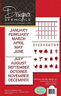 save the date stencil