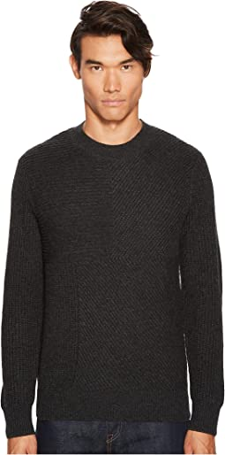 Levi's® Premium Made & Crafted Cashmere Blend Pieced Sweater