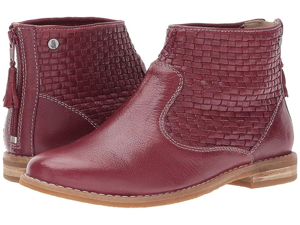 23708dc5958 Hush Puppies Adee Chardon (Dark Red Leather) Women s Pull-on Boots