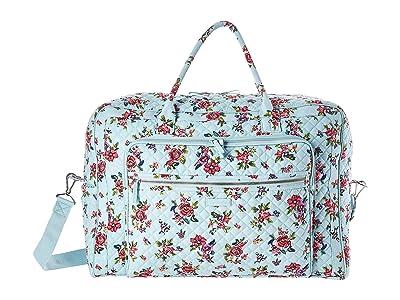 Vera Bradley Iconic Grand Weekender Travel Bag (Water Bouquet) Weekender/Overnight Luggage