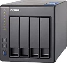QNAP TS-431X NAS Torre Ethernet Negro - Unidad Raid (Unidad de Disco Duro, SSD, Serial ATA III, 2.5/3.5