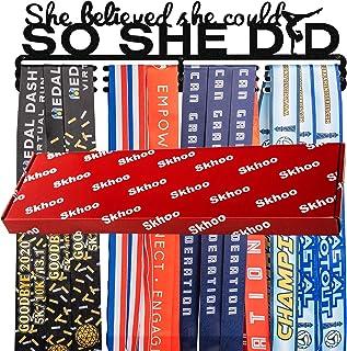 Premium Soccer Medal Holder Hanger Display Rack, Medal...
