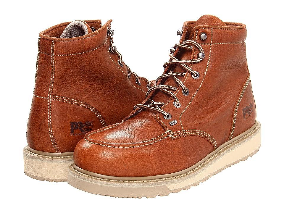 Timberland PRO Barstow Wedge Soft Toe (Rust) Men