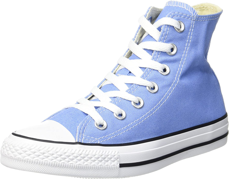 Converse Unisex Adults' CTAS Hi Pioneer bluee Top Trainers