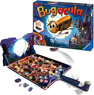 Ravensburger 20540 Bugacula Game for Kids Age 6 Years and Up-Race Across The Board avoiding The Hexbug Nano