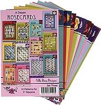 Villa Rosa Designs Dozen Rose Cards Set 3 Pattern