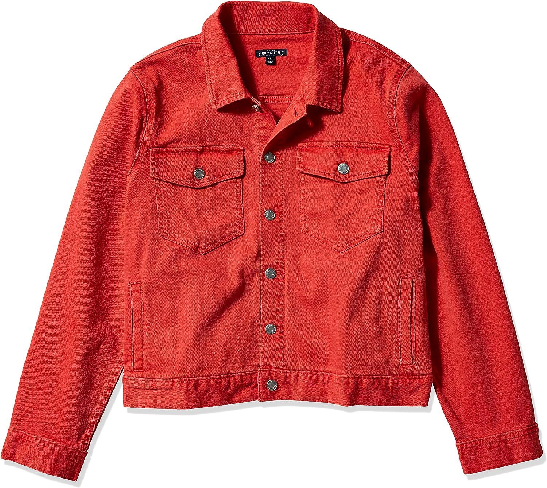 J.Crew Mercantile womens Cropped Garment-dyed Denim Jacket