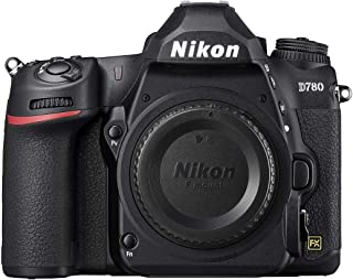 Nikon D780 Digital SLR-kamera i fullformat (24,5 MP, 4K UHD-video inkl. slow förstoringsfunktion, EXPEED 6-processor, 3,2 ...