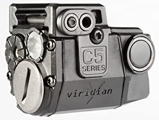 Viridian C5L Universal Laser Sight and Tac Light for Sub-Compact Handgun Pistols, ECR Instant On Technology