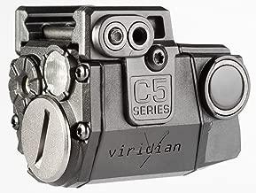 Viridian C5L Universal Laser Sight and Tac Light for Sub-Compact Handgun Pistols, ECR Instant On Technology