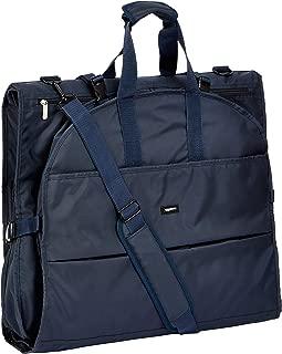 AmazonBasics Premium Tri-Fold Travel Hanging Garment Bag - 63 Inch, Blue