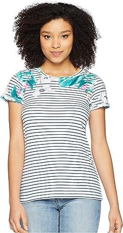 Nessa Printed Jersey T-Shirt