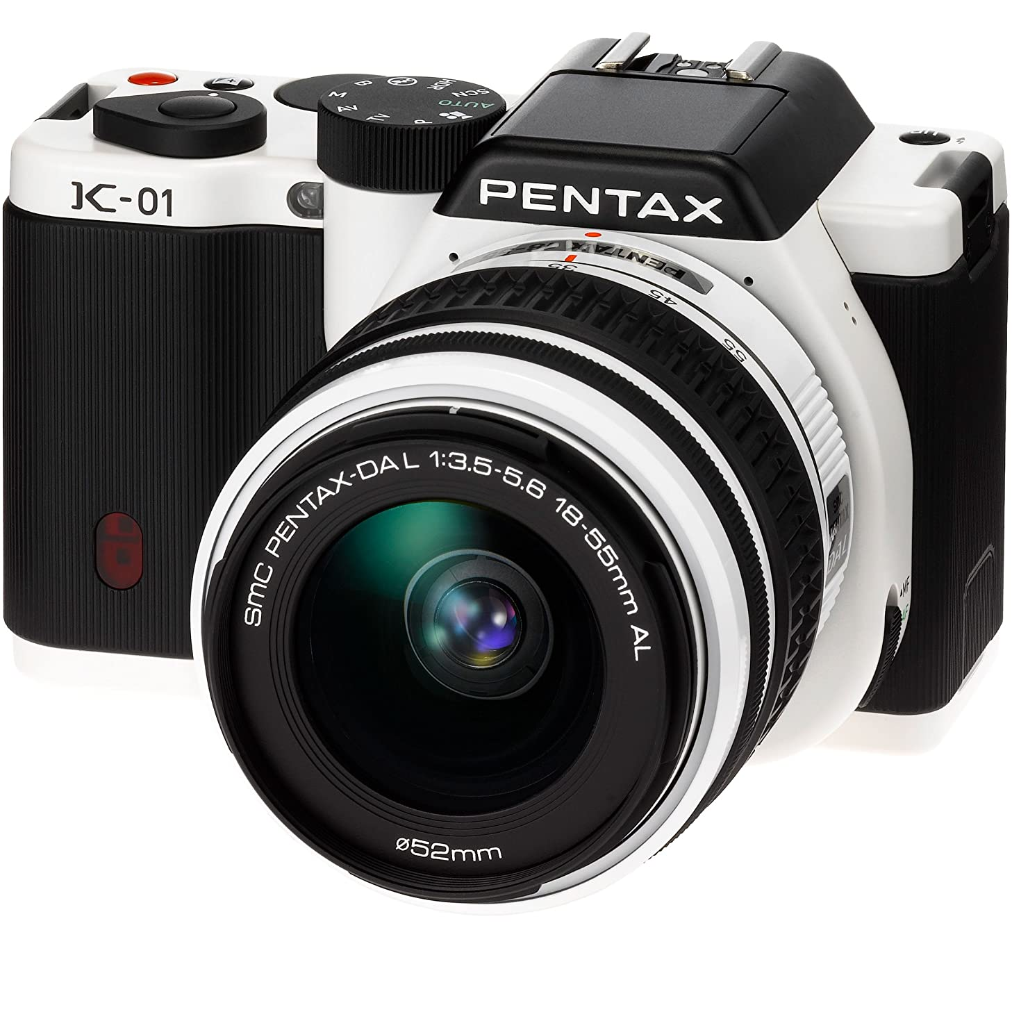 PENTAX digital SLR camera K-01 zoom lens Kit white / black K-01ZK WH / BK