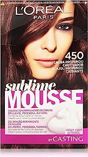 L'Oreal Paris Sublime Mousse Coloración Permanente 450