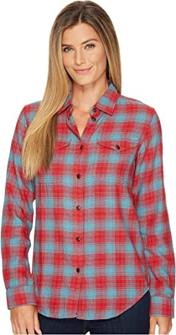 Red/Turquoise Plaid