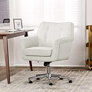 Serta Ashland Home Office Chair, Ivory