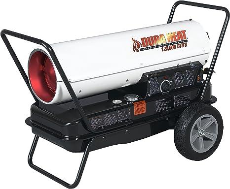 Dura Heat DFA135C 135K BTU Kero Forced Air Heater with Thermostat: image
