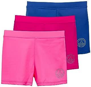 Lucky & Me   Ella Girls Dance Shorts for Gymnastics & Dancewear   Multicolor   3-Pack