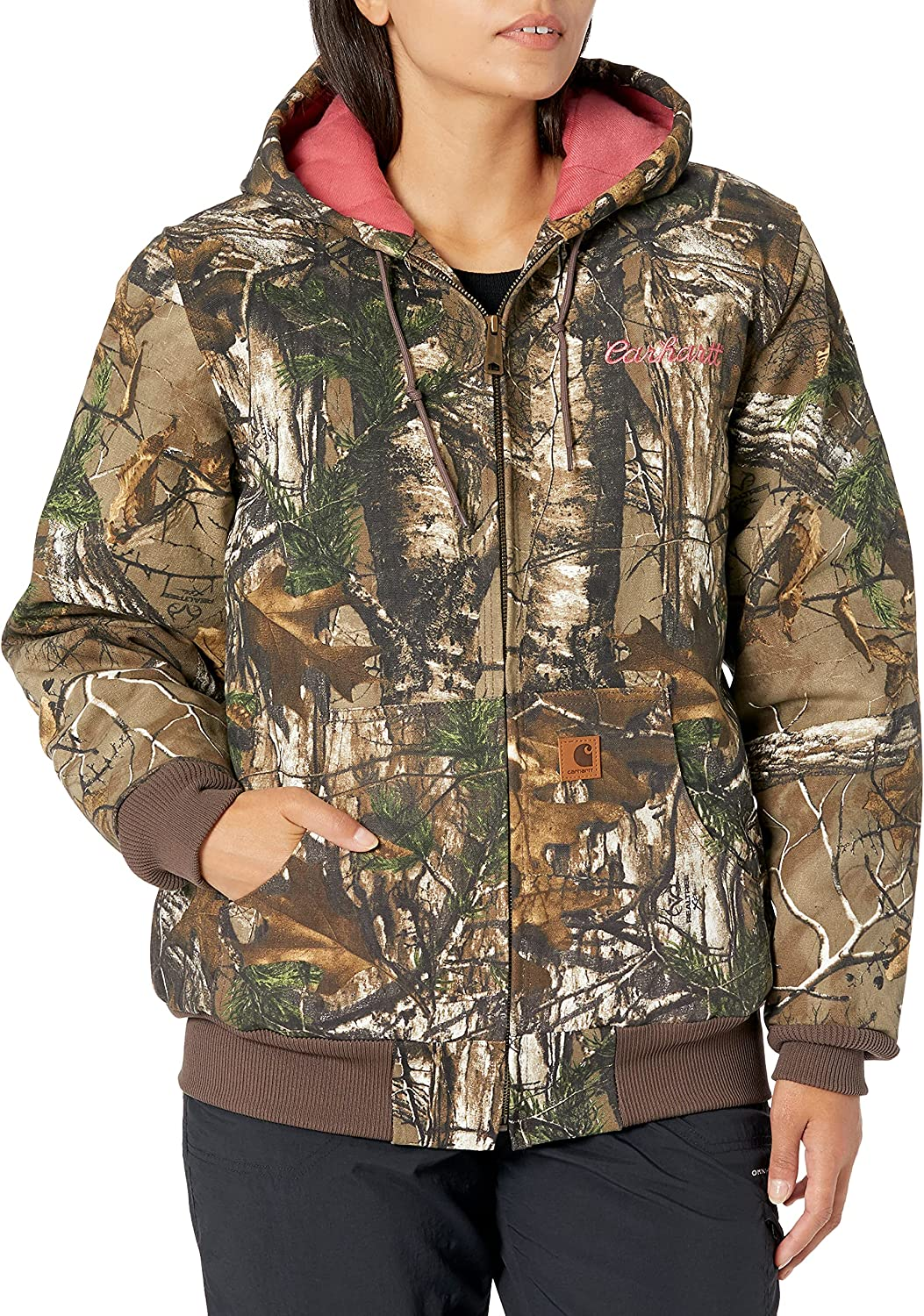 Carhartt Women's Camo Active Jacket Limited Special Price Popular product