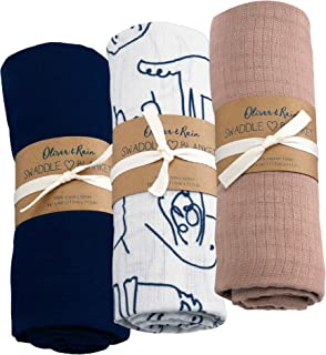 Navy Blue 47in x 47in for Infants and Toddlers Many Colors Muslin Fabric Swaddle Blanket Sugar House Shop Premium 100/% Imported Cotton 8oz