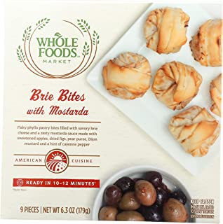 Whole Foods Market, Brie Bites with Mostarda, 9 ct, (Frozen)