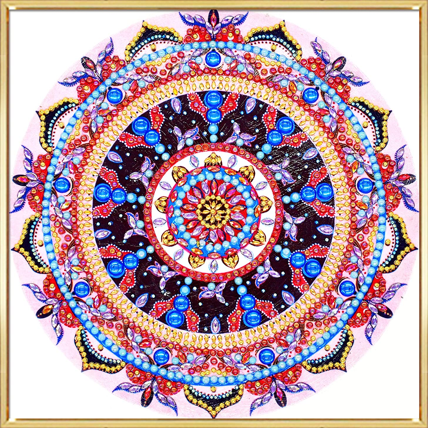 HuaCan Diamond Painting Kits for Adults Special Shape Embroidery Arts Craft Home Decor