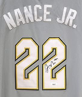 Larry Nance Jr. Cleveland Cavaliers Cavs Signed Autographed City Edition The Land #22 Jersey JSA COA
