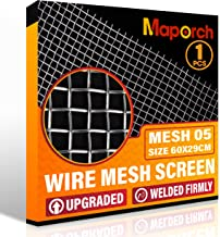 """304 Stainless Steel Mesh Screen Woven Metal Type Mesh 5 Wire 29cm x 60cm (23.6"""" x 11.4"""") for Vent, Animal Cage Net, Securi..."""