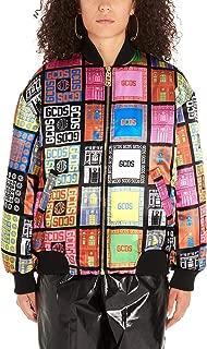 GCDS Luxury Fashion Womens FW20W040126MX Multicolor Outerwear Jacket | Fall Winter 19