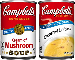 Campbell's Condensed Cream Soup Variety Pack, 10.5 oz. Can, (Pack of 6)