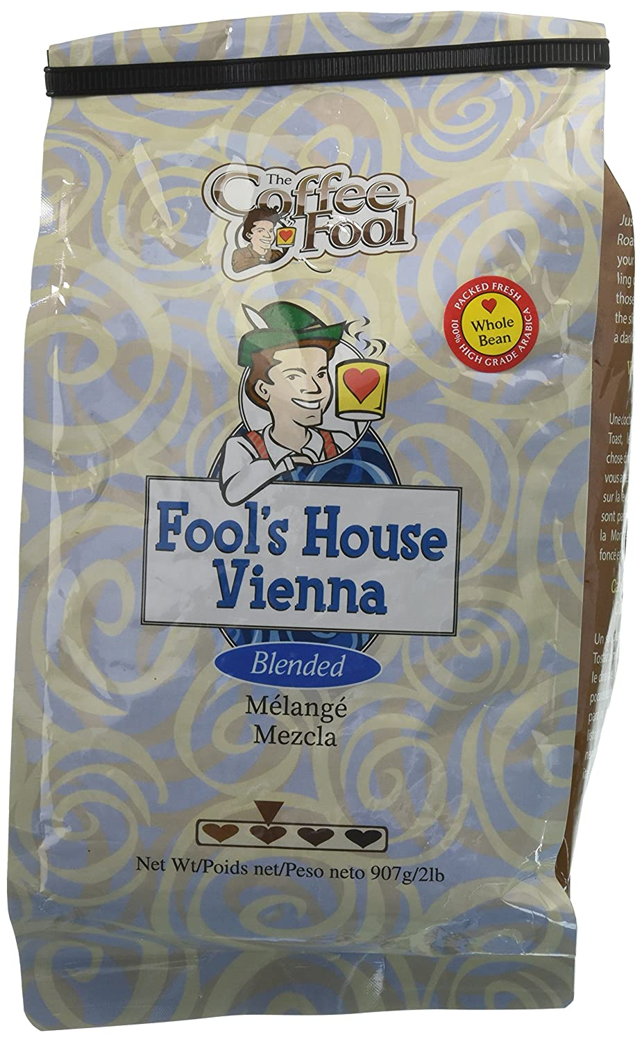 The Coffee Fool House Vienna Whole Surprise Max 69% OFF price Bean Pound 2