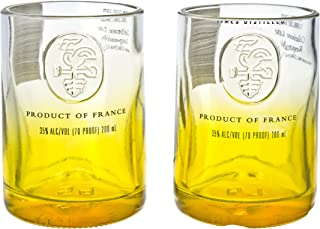 Ciroc Pineapple Vodka Reclaimed Bottles Glassware Barware Drinkware Shot Glass Gift Set
