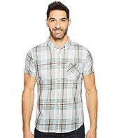 United By Blue Short Sleeve Thunderhead Plaid Shirt