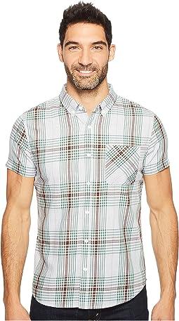 Short Sleeve Thunderhead Plaid Shirt