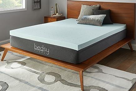 featured product Bedsy Sleep 3 Gel Memory Foam Mattress Topper,  Soft,  Full