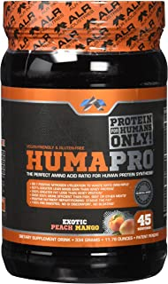 ALR Industries Humapro Powder, Exotic Peach Mango, 334 Gram