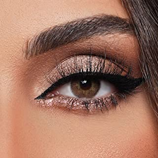 VERSACE 19V69 Contact Lenses, Stylish Brown A Honey