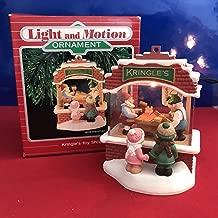 Hallmark Keepsake Magic Ornament - Kringle's Toy Shop 1987 QLX7017 Light and Motion