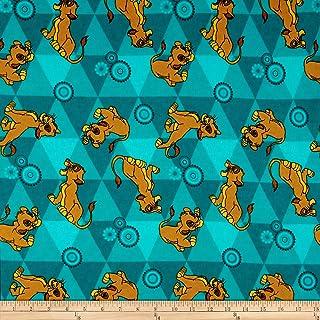 Lion King Simba /& Nala Heart Tails Cotton Fabric Bag