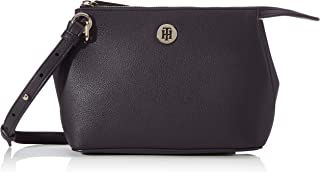Tommy Hilfiger Women's Charming Crossover Bag, Black - AW0AW08157