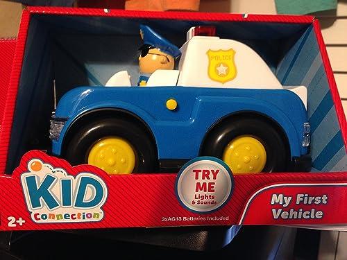 almacén al por mayor Kid Connection My My My First Vehicle - Police Car by My First Vehicle  comprar nuevo barato