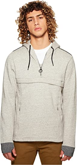 Scotch & Soda Club Nomade Popover Hoodie with Zipper Details