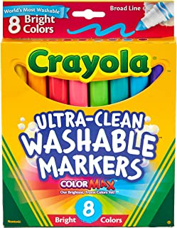Crayola Ultra Clean Washable Markers, Multi-Colour, Cy58-7819