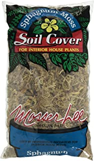 Mosser 0180 Long Fibered Sphagnum Moss, 100-Cubic Inch