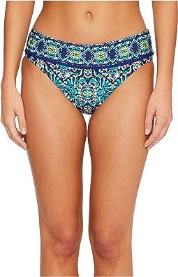 Tuvalu Banded Hipster Bikini Bottom