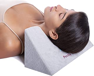 Cervical Neck Traction Fulcrum for Neck, Back, and Shoulder Pain Relief - Chiropractic Therapy Tool for Spinal Adjustment - Hypoallergenic Foam Block - Restoration Tension Stretching for Better Sleep
